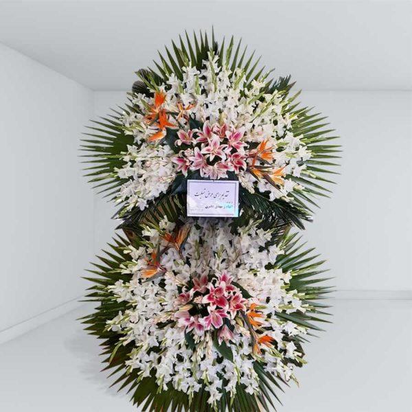 تاج گل دو طبقه مجلسی