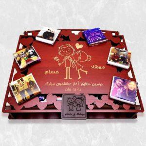 خرید آنلاین شکلات سفارشی عاشقانه