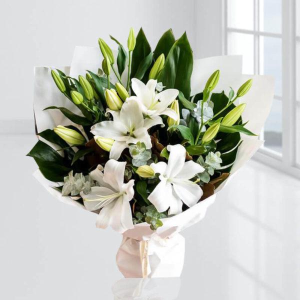خرید دسته گل انلاین- دسته گل لیلیوم