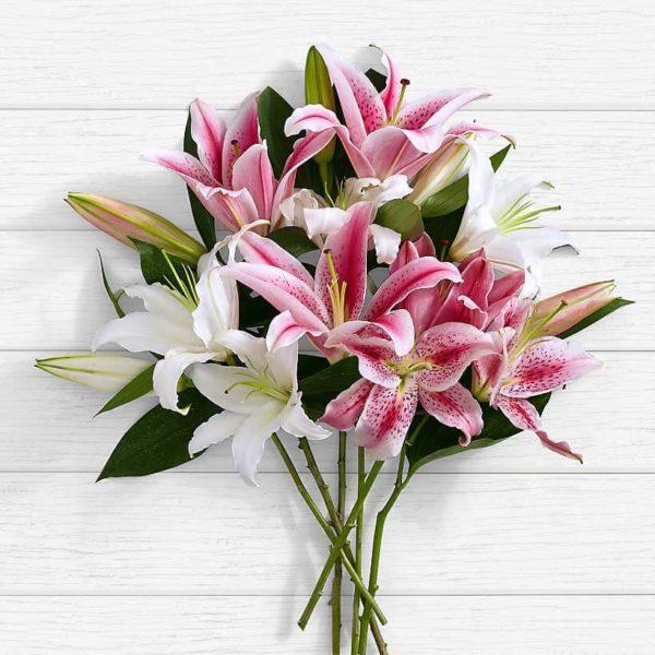 سفارش گل اینترنتی- دسته گل لیلیوم