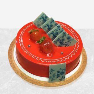 خرید اینترنتی کیک، کیک قرمز
