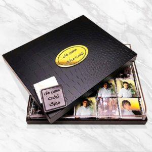 شکلات سفارشی مدل جعبه آنتیک