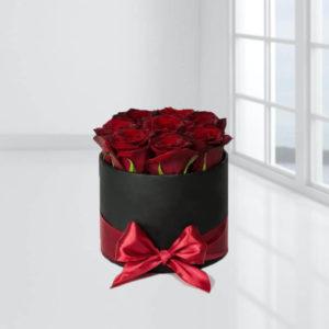 خرید گل اینترنتی جعبه گل رز جادوئی