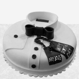 سفارش انلاین کیک، کیک مردانه پدر خوش تیپ
