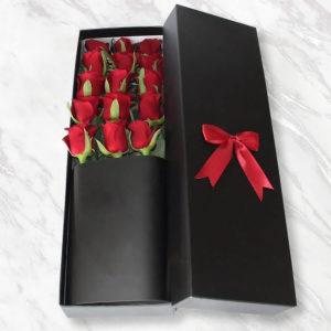 خرید گل رز اینترنتی، باکس گل رز