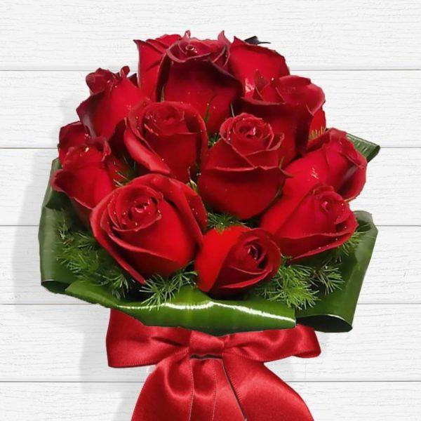 سفارش گل اینترنتی ، دسته گل رز تسنیم