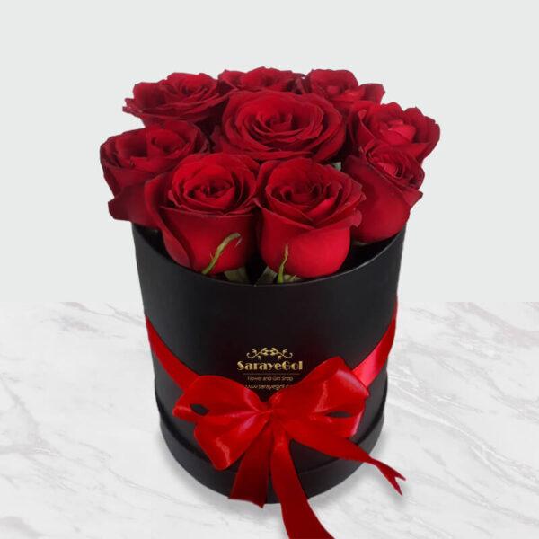 سفارش گل آنلاین، جعبه گل رز جادوئی