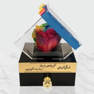 گل فروشی آنلاین سرای گل با خرید گل رز جاویدان و یا گل دیو و دلبر با تنوع رنگ و مدل با برند آمورعزیزانتان رادرسراسرایران سورپرایزمی کند.