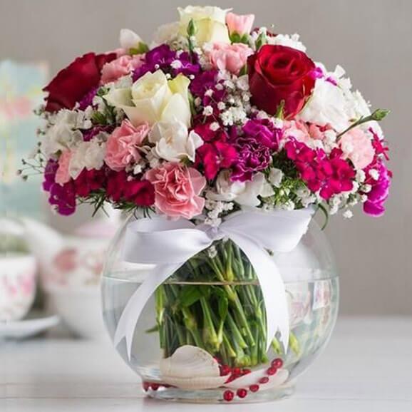 خرید گلدان گل تابستانی
