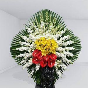پایه گل یک طبقه مینیاتور
