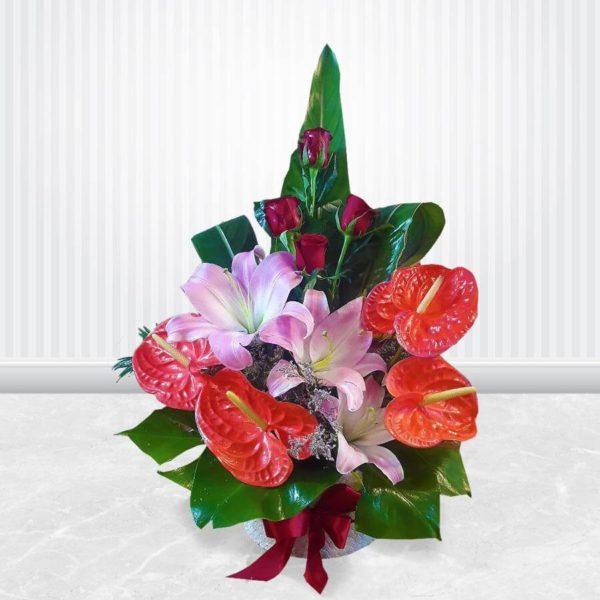 جعبه گل فرشته مهربانی