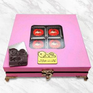 شکلات سفارشی طرح کودک VIP