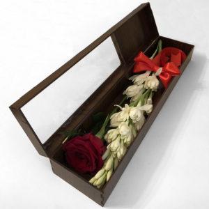 باکس گل مریم و رز