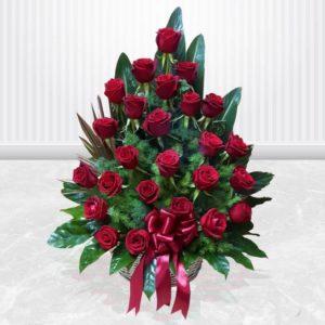خرید گل رز آنلاین خرید گل رز قرمز فانتزی