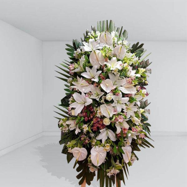تاج گل یک طبقه آوای گل ها