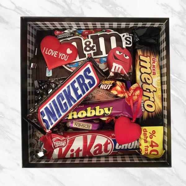جعبه شکلات جزیره شادی