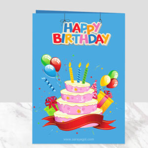 کارت پستال تولد مبارک