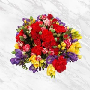 جعبه گل بهاری رمانتیک