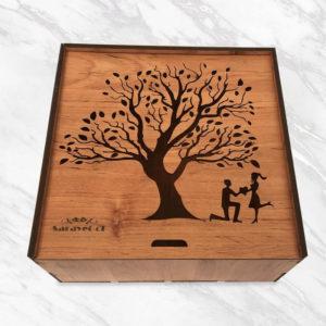 جعبه گل عشق و احساس