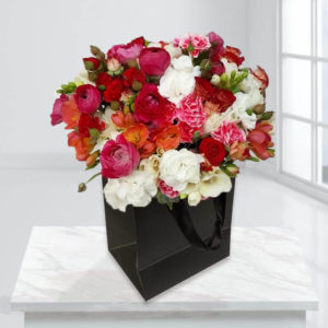 جعبه گل های بهاری