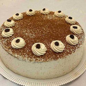 کیک نسکافه خامه بی بی