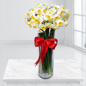گلدان گل نرگس