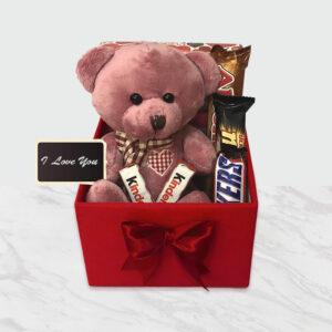 پکیج تدی و شکلات ونوس