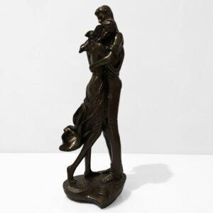 تندیس عاشقانه دختر و پسر