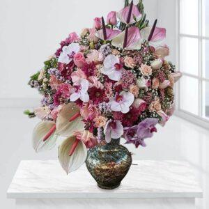 گلدان گل ایلیا