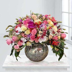گلدان گل مجنون